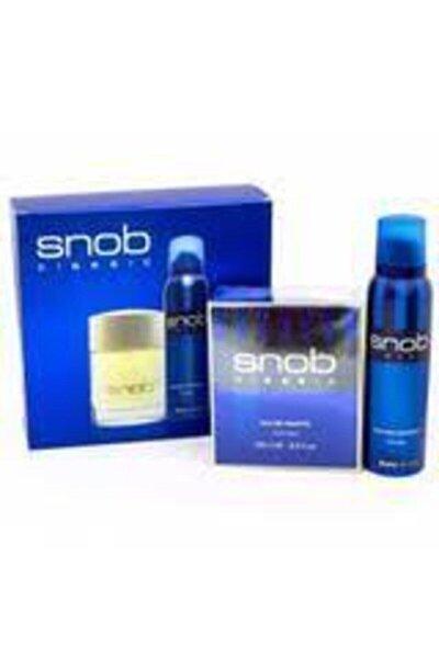 Snob Orıjınal Snop Classic Edt Erkek Parfümü 100 Ml +snop Deodorant 150 Ml