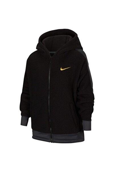 Nike Kız Çocuk Siyah Therma Wınterızed Fz Hd Ceket