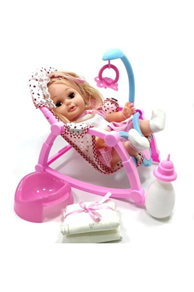 Kanz Roza Pusetli Altını Islatan Oyuncak Bebek