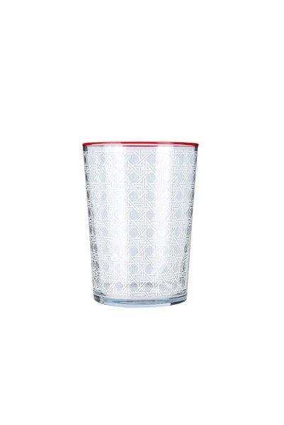Karaca Blanco Su Bardağı Kırmızı
