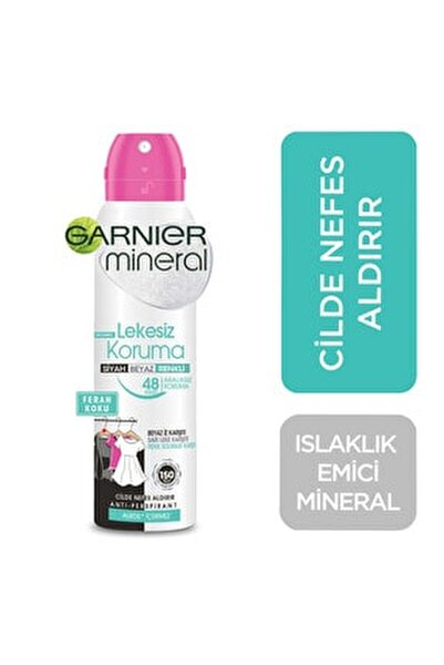 Mineral Lekesiz Koruma Sprey Deodorant 150 Ml - Alkolsüz