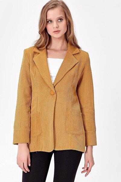 Jument Kadın Hardal Ceket 37007