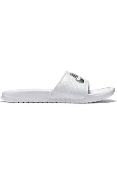 Nike Kadın Beyaz Wmns Benassi Jdi Günlük Spor Ayakkabı 343881-102