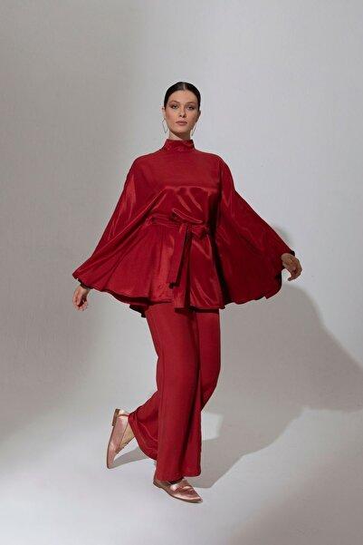 Mimya Kadın Pelerin Bluz