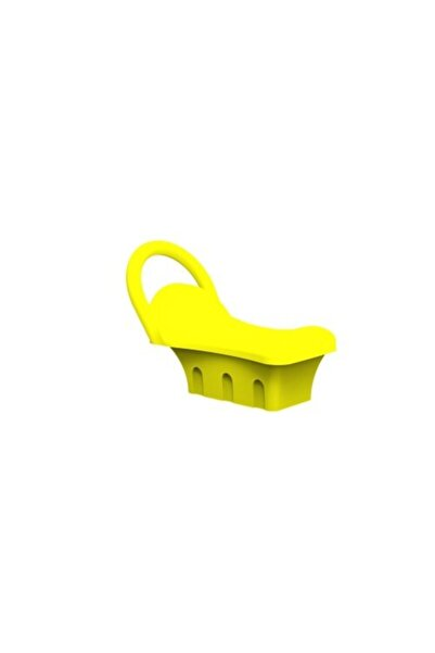 """ARS PARK Tutamaklı Geçirmeli Plastik Tahterevalli Oturağı 4""""(114mm) Boruya Uygun Koltuk"""