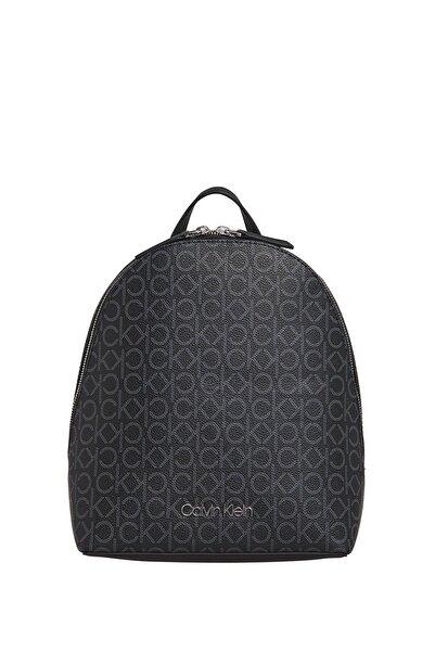 Calvin Klein Kadın Siyah Mono Sm Sırt Çantası K60k606476