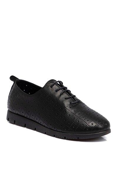 Tergan Kadın Siyah Ayakkabı