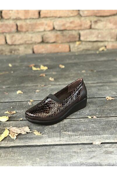 İmaj Kadın Günlük Hakiki Deri Ayakkabı