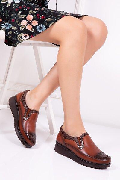 Gondol Kadın  Taba Casual Ayakkabı