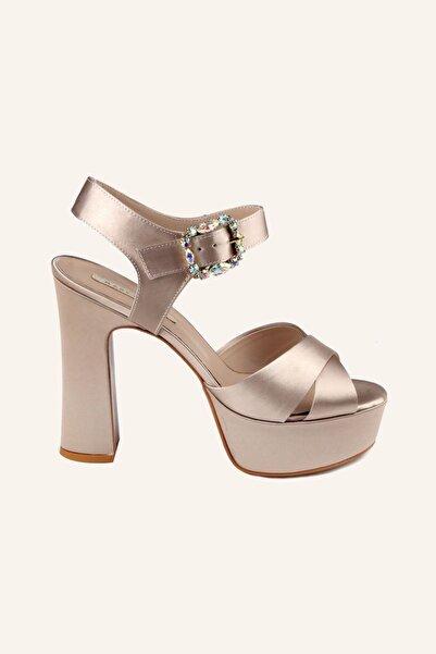 MARCATELLI Kadın Bej Topuklu Ayakkabı
