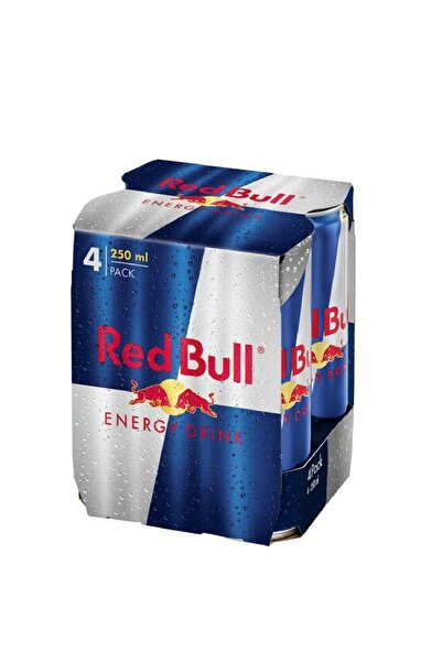 Red Bull Classic 250 ml 4'lü