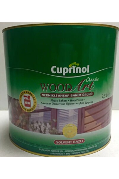 Marshall Cuprinol Wood Art Classic Naturel Vernik 2,5 Lt. (iade Yoktur.)