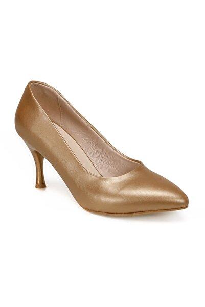 Butigo Verona Altın Kadın Gova Ayakkabı