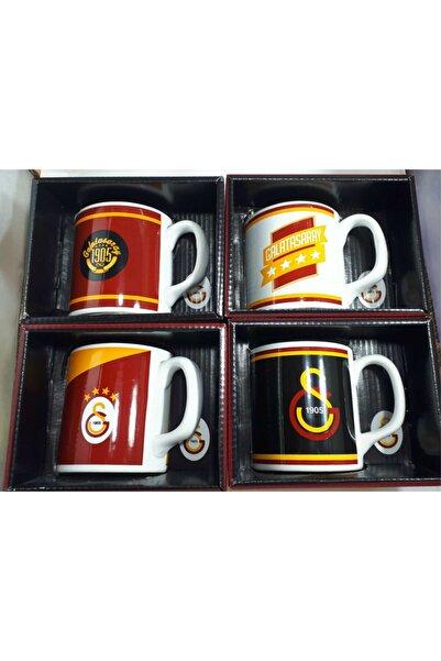 Seramiksan Galatasaray Lisanslı Taraftar Kupa Bardağı Orjinal Kutusunda Porselen Yapı