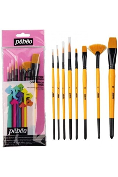 Pebeo 8''li Fırça Seti Set-4