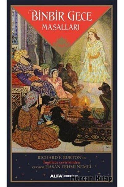 Alfa Yayınları Binbir Gece Masalları (richard F. Burton Çevirisi)