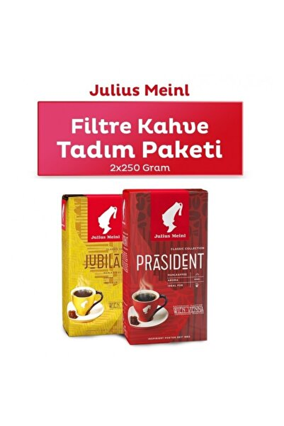Julius Meinl Filtre Kahve Tadım Paketi 500g