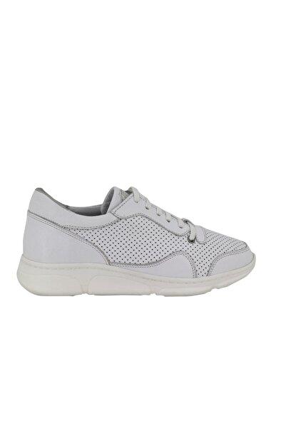 Hobby Divadonna Beyaz Ortopedik Kadın Günlük Ayakkabı Dd2226