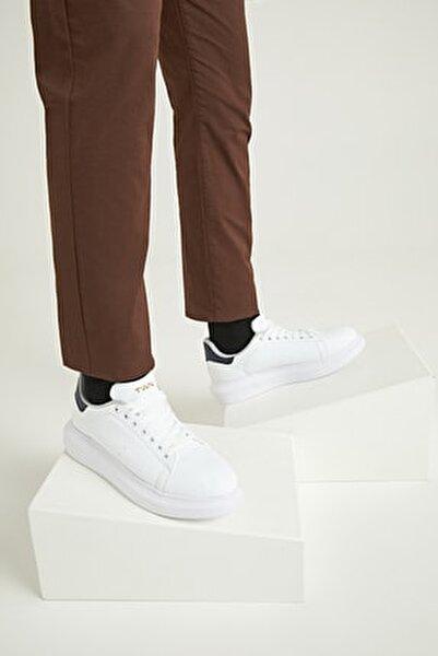 Erkek Ayakkabı Beyaz Renk