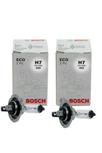 Bosch 12v. H7 55w Far Ampülü 2 Adet Set