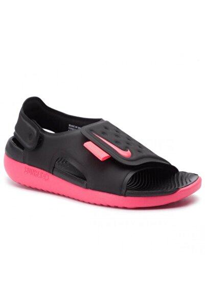 Nike Kız Çocuk Siyah Sunray Adjust 5 Sandalet Aj9076 002