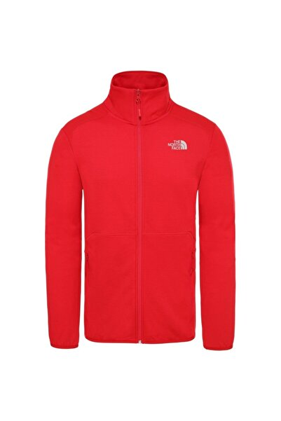 THE NORTH FACE Erkek Kırmızı Outdoor Full Zıp Jacket T93yg1682