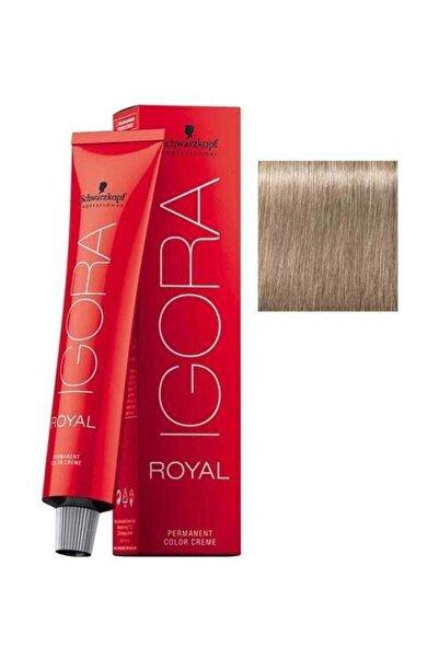 SCHWARZKOPF HAIR MASCARA Sandre Sarı Igora Royal Saç Boyası 9-1 60 ml 4045787207903