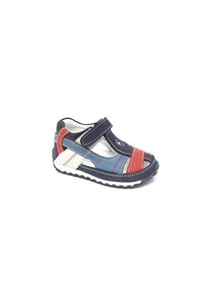 Perlina Erkek Çocuk Lacivert Hakiki Deri Ortopedik Günlük Ayakkabı 272-2