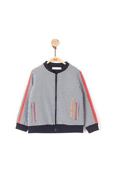 NK Kız Bebek Siyah Turuncu Mini Kazayağı Ceket