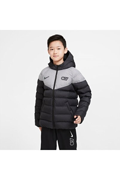 Nike Nıke Cr7 Unisex Çocuk Bej Mont