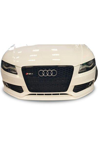 Audi A4 (2008-2012 B8) Audi A4 B8 Sportline Makyajsız Ön Ek 2008 - 2012 (plastik)
