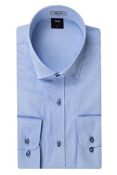 Tween Erkek  Mavi Gömlek 2TF02GL04242_701