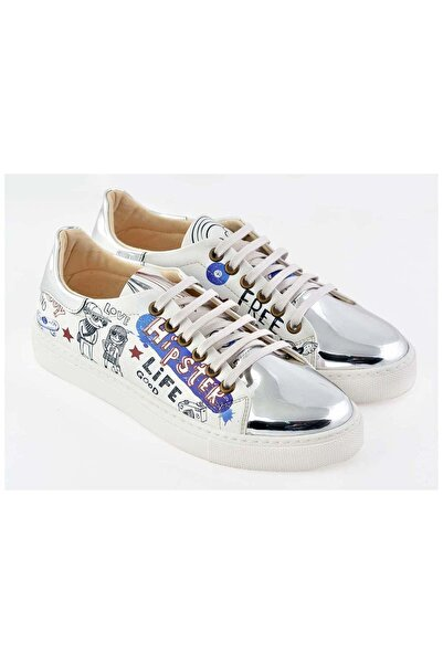 Goby Özel Tasarım-baskılı-hippi Desen Sneaker