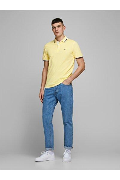 Jack & Jones Erkek Sarı T-Shirt 12136668