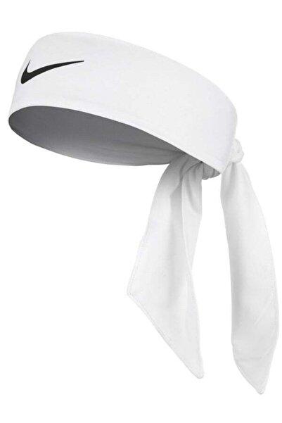 Nike Beyaz Dry Head Tie Tenis Kafa Bandı