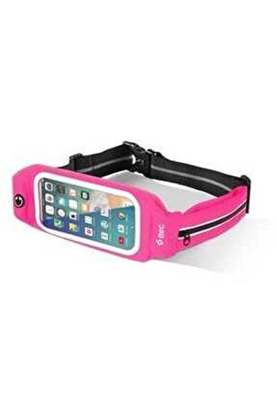 Pembe Easyfit Belt Xl Telefon Cepli Spor Bel Çantası 5 - 5.5 inç Ekran