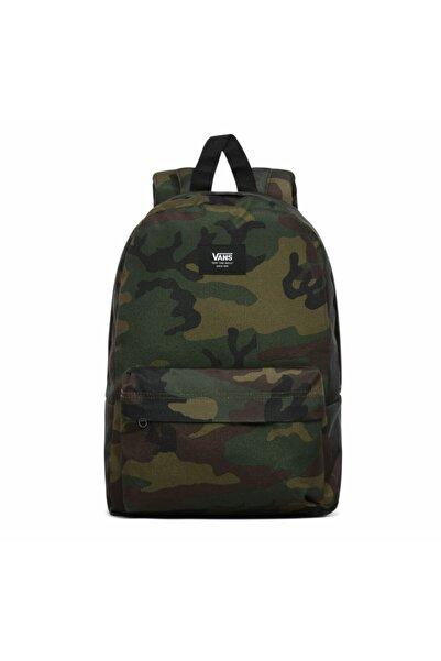 Vans Erkek Yeşil 0002tl97ı1-r New Skool Backpack Boys Sırt Çantası