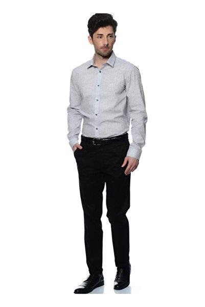 Cotton Bar Erkek Siyah Pantolon