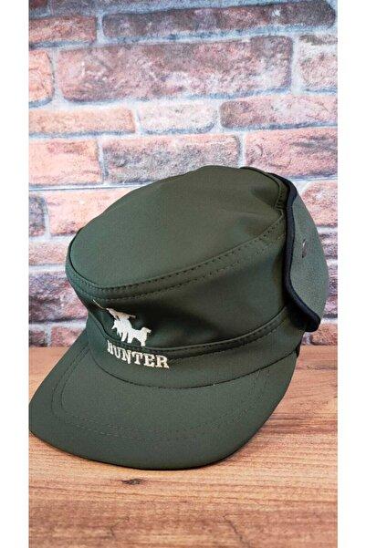 Hunter Unisex Haki Avcı Şapkası