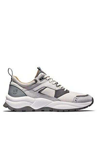 Tımberland Grey Erkekler Için Tree Racer Deri Sneaker