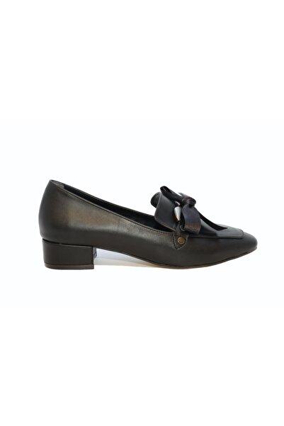 DİVUM Kadın Siyah Topuklu Ayakkabı