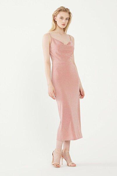 adL Kadın Pudra Askılı Elbise 12435887004026