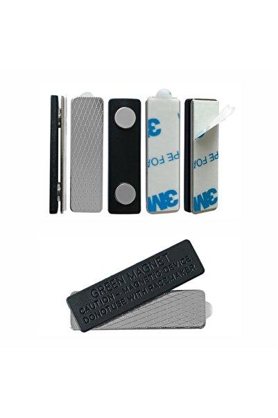 Pelikan Reklam Isimlik Yaka Kartı Mıknatısı - 50 Adet 3m Yapışkanlı Magnet
