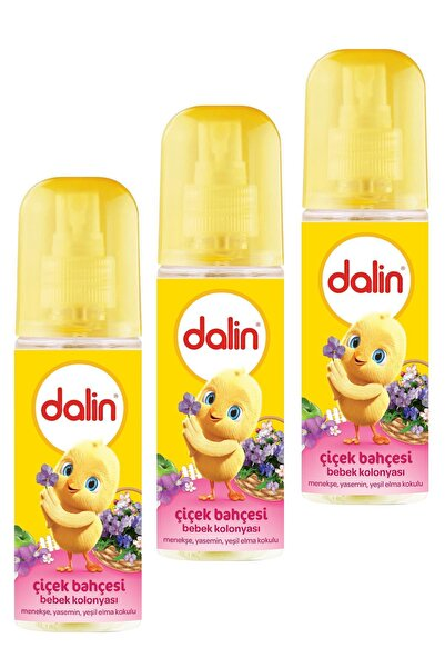 Dalin Bebek Kolonyası Çiçek Bahçesi 150ml X 3 Adet