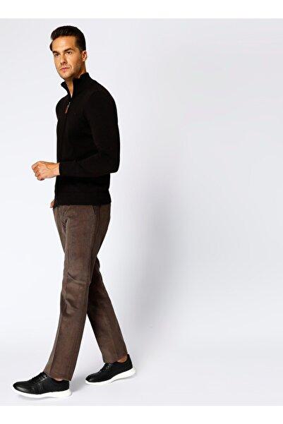 Cotton Bar Erkek Kahverengi Pantolon