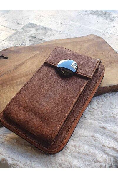 ecrin aksesuar Büyük Boy Telefonluklu Cüzdan Çanta