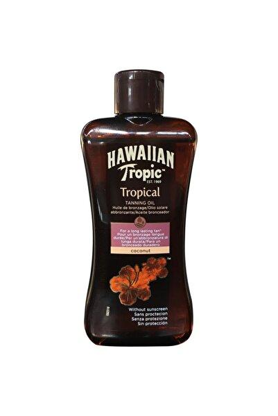 Hawaiian Tropic Coconut Spf 0 Bronzlaştırıcı Yağ 200ml