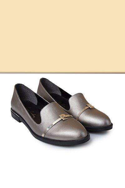 Pierre Cardin Kadın Platin Casual Ayakkabı  Pc-50599 - 3092-591