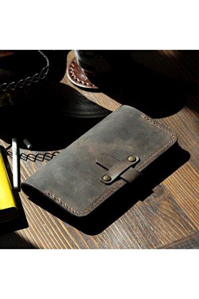 Hi Leather Alchera Tütün Çantası / Kılıfı Kestane