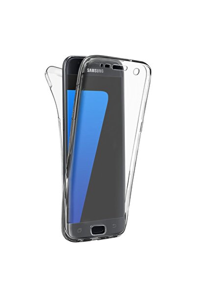 Microsonic Microsonic Galaxy S7 Edge Kılıf 6 Tarafı Tam Full Koruma 360 Clear Soft Şeffaf